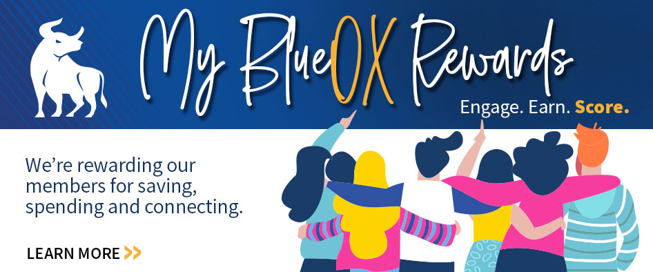 BlueOx Credit Union Member Rewards