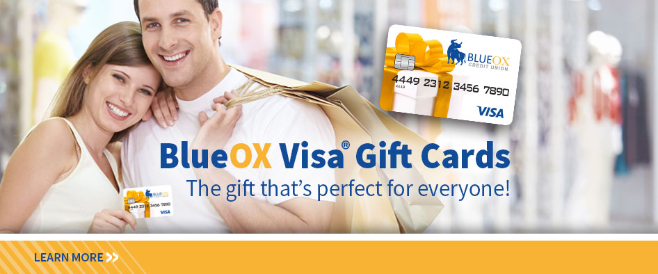 BlueOx Visa Gift Cards
