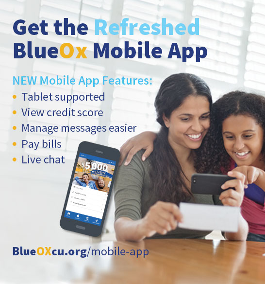 Get the Refreshed BlueOx Mobile App