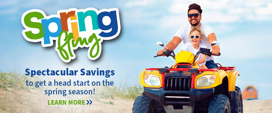 Spring Fling. Spectacular savings to get ahead start on the spring season!